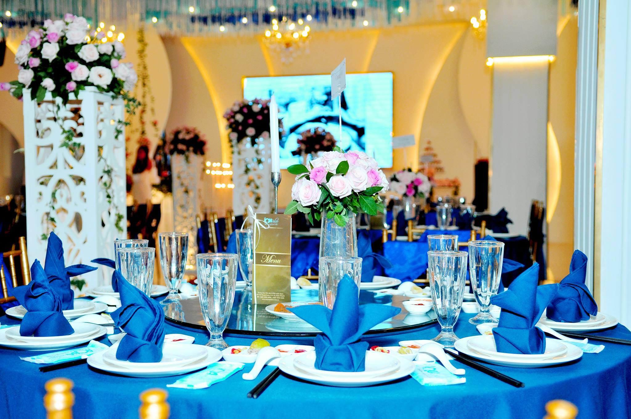 Sảnh Tiệc Cưới Nhà Hàng Aqua Palace